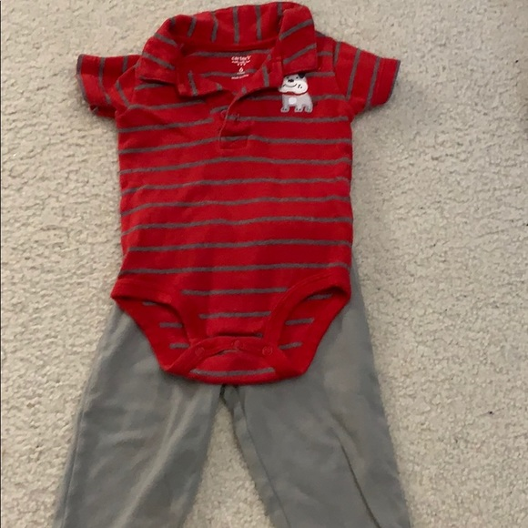 Carter's Other - Boys matching onesie and pants
